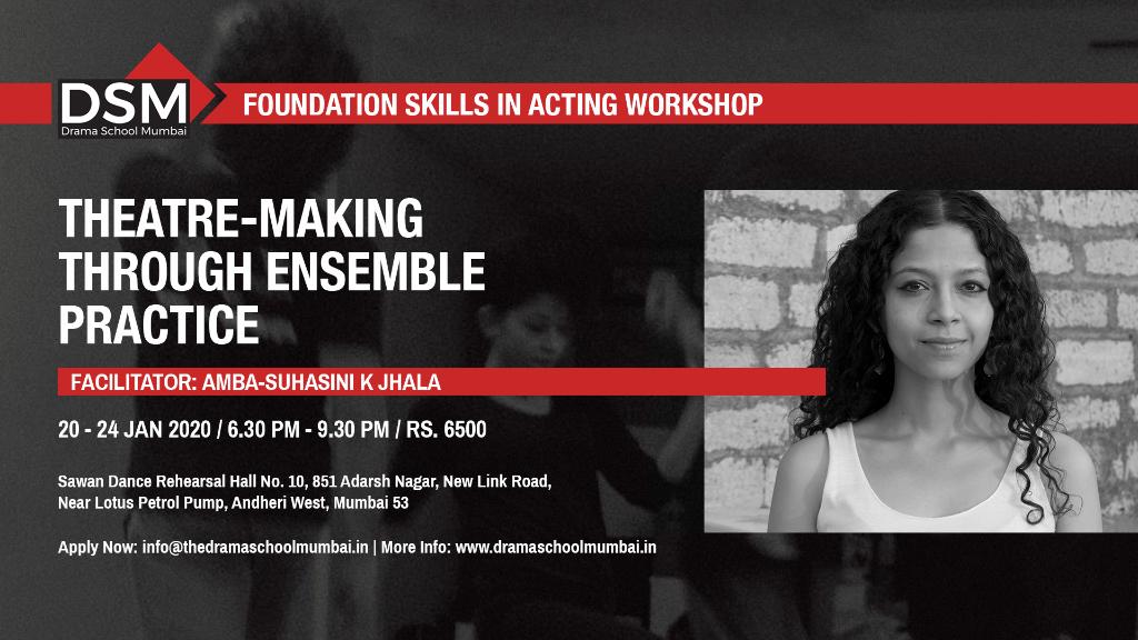 Theatre-Making Through Ensemble Practice
