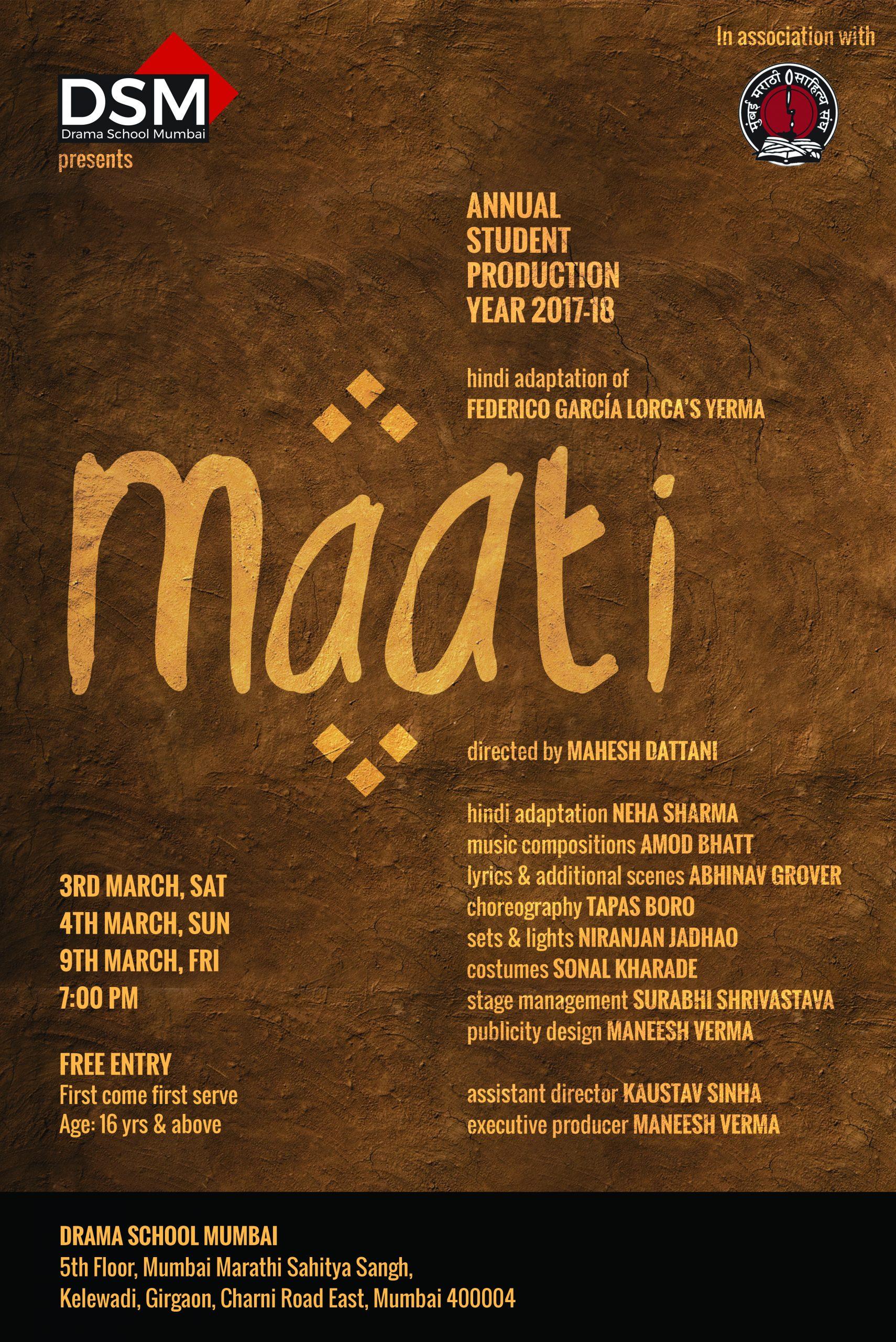 Maati - Final Poster
